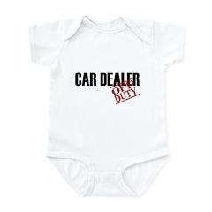 Off Duty Car Dealer Infant Bodysuit
