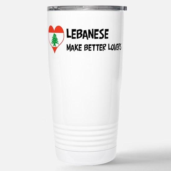 Lebanon - better lovers Mugs