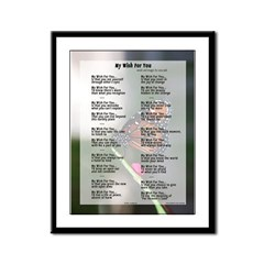 My Wish for You - Framed print