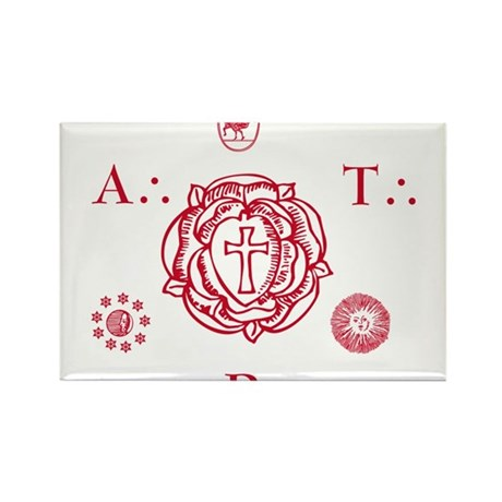 Sacred Seal of the ART Rectangle Magnet (100 pack)
