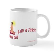 Funny Nudist camp Mug