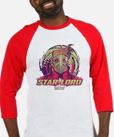 GOTG Star-Lord Head Baseball Jersey