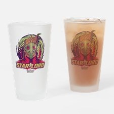 GOTG Star-Lord Head Drinking Glass