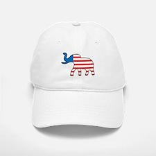 USA Elephant Baseball Baseball Cap