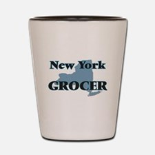 New York Grocer Shot Glass