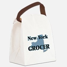 New York Grocer Canvas Lunch Bag