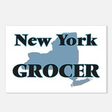 New York Grocer Postcards (Package of 8)