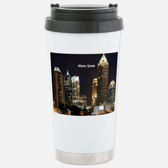 Atlanta, Georgia at Nig Stainless Steel Travel Mug