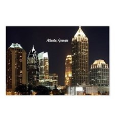Atlanta, Georgia at Night Postcards (Package of 8)