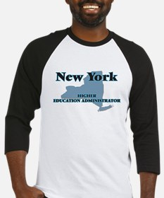 New York Higher Education Administ Baseball Jersey