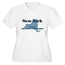 New York Higher Education Admini Plus Size T-Shirt