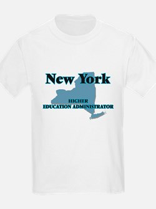 New York Higher Education Administrator T-Shirt