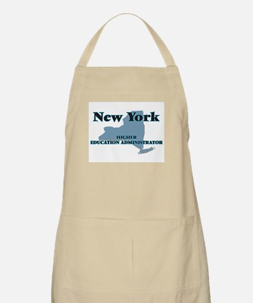New York Higher Education Administrator Apron