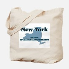 New York Higher Education Administrator Tote Bag