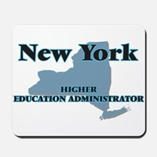 New York Higher Education Administrator Mousepad