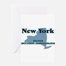 New York Higher Education Administr Greeting Cards
