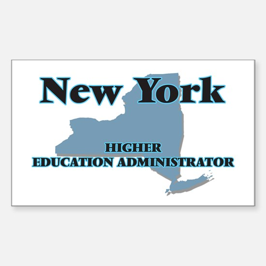 New York Higher Education Administrator Decal