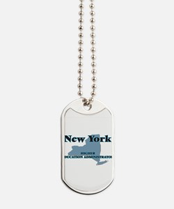 New York Higher Education Administrator Dog Tags