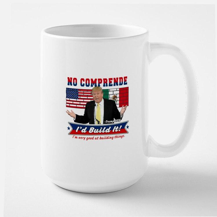 Trump 2016 Mexico US Wall Ceramic Mugs