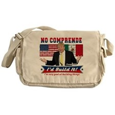 Trump 2016 Mexico US Wall Messenger Bag