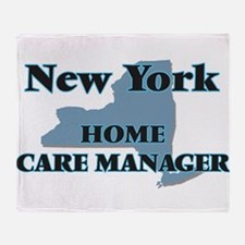 New York Home Care Manager Throw Blanket