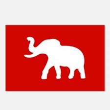 USA Elephant Postcards (Package of 8)