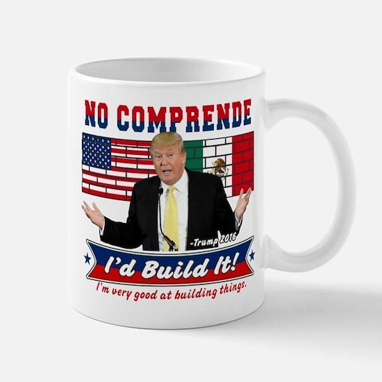 Trump 2016 Mexico US Wall Mugs