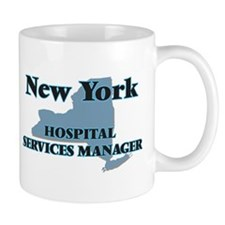 New York Hospital Services Manager Mugs
