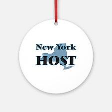 New York Host Round Ornament