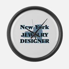 New York Jewelry Designer Large Wall Clock