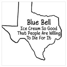 Blue Bell To Die For Poster