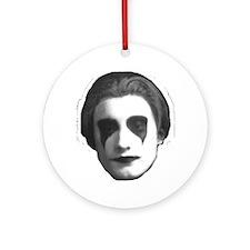 Mark Suba Face Ornament (Round)