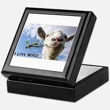 Weed Goat Keepsake Box