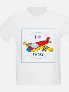 I Heart to Fly T-Shirt