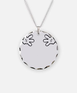 Mickey hands Necklace