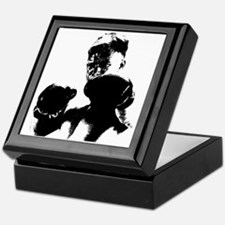 athlete boxing Keepsake Box
