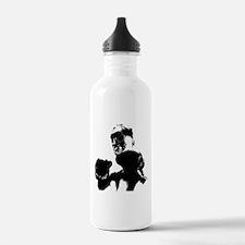 athlete boxing Water Bottle