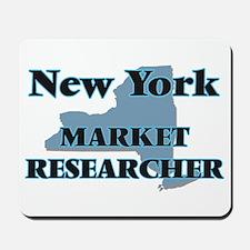 New York Market Researcher Mousepad