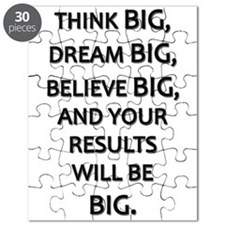 Think Big Dream Big Puzzle