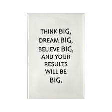 Think Big Dream Big Rectangle Magnet