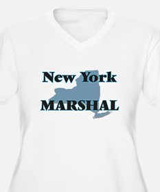 New York Marshal Plus Size T-Shirt
