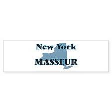 New York Masseur Bumper Bumper Sticker