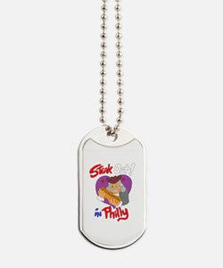 Cute Steak and cheese Dog Tags