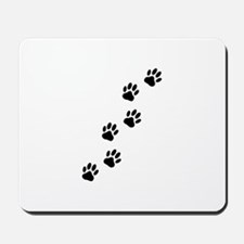 Cartoon Dog Paw Track Mousepad