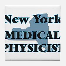 New York Medical Physicist Tile Coaster