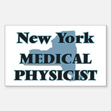 New York Medical Physicist Decal
