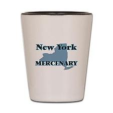 New York Mercenary Shot Glass
