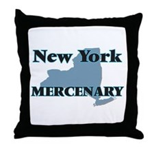 New York Mercenary Throw Pillow