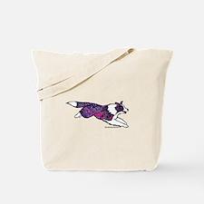 Zentangle Border Collie Tote Bag