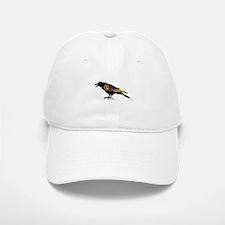 Zentangle Crow Baseball Baseball Cap